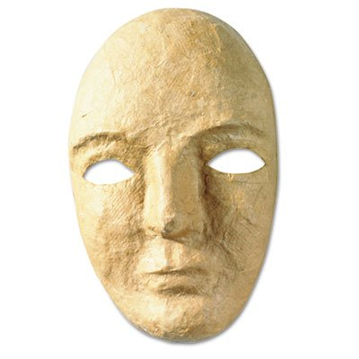 Paper Mache Mask Kit, 8 X 5 1/2'', Sold As 1 Each