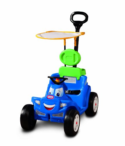 New Little Tikes Deluxe 2-in-1 Cozy Roadster