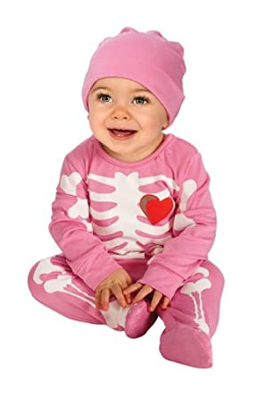Rubie's Costume My First Halloween Pink Skeleton Costume, Pink, 6-12 Months
