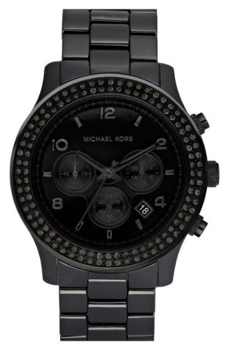 Michael Kors Black Out  Michael Kors Watches Black Ceramic