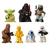 Star Wars Set Of 7 Character Bath Toys - Disney Parks Exclusive