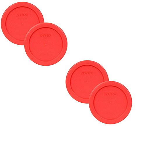 pyrex-7202-pc-4-red-1-cup-236ml-round-storage-lid-4-pack-bundle-for-glass-bowl