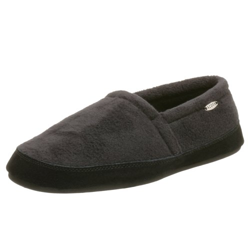 ACORN Men's Polar Moc,Black,Large (US Men's 10.5-11.5 M)