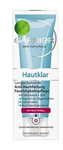 Garnier Hautklar Langanhaltende Anti-Nachfettung Feuchtigkeitspflege, 75ml