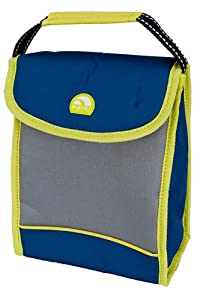 igloo insulated lunch bag black gray with