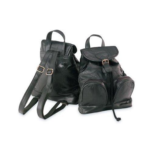 Maxam®Italian MosaicTM Design Genuine Lambskin Leather Backpack/Purse