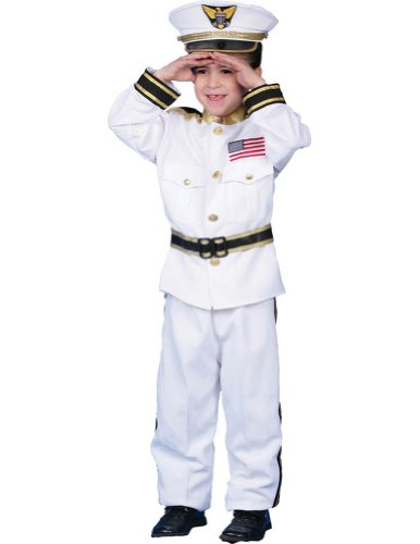 Navy Admiral Lg 12-14 Kids Boys Costume