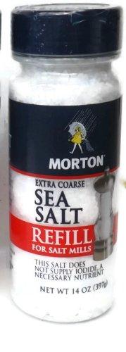 Coarse salt for grinders