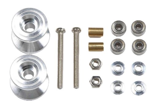 GP398 Two-tier Aluminum Roller Set (13-12mm) (Mini 4WD) Tamiya Grade Up Parts - 1