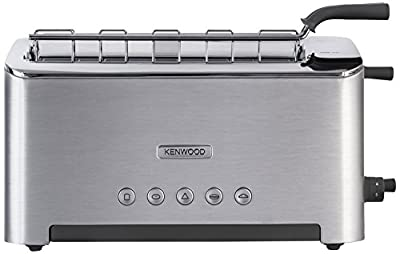 Kenwood TTM610 Persona Collection Toaster with Adjustable Toasting Slot and Sandwich Basket, Silver by Kenwood
