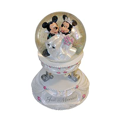 Disney Musical Wedding Snowglobe