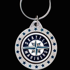 Seattle Mariners Key Ring - MLB Baseball Fan Shop Sports Team Merchandise