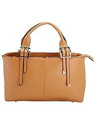Aadaana Classic Suede Women's Maroon Hand-held Bag