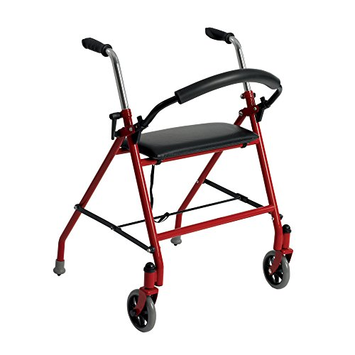 drive-medical-1239rd-two-wheeled-walker-with-seat-red