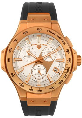Swiss Legend Men's 40051-RG-02 Maverick Chronograph Rose Gold-Tone Watch