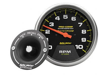 Auto Meter 4798 Carbon Fiber Electric In-Dash Tachometer