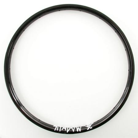 The Shadow Conspiracy Orbis BMX Bike Rims - Black Matte Anodized Finish