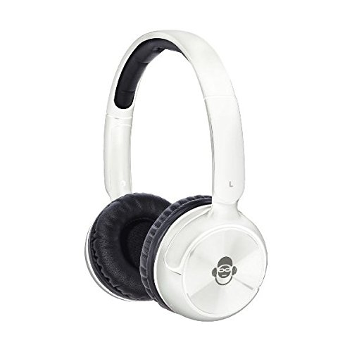 Idance Blue100W Bluetooth Headphones - White