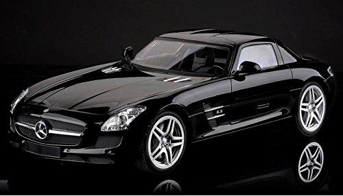 Brigamo 437 - Komplettset inkl. Batterien! Mercedes SLS AMG Modellauto, 1:14, Ferngesteuertes Auto, RC Auto mit Fernsteuerung