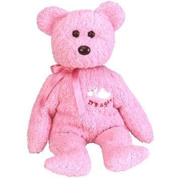 TY Beanie Baby - BABY GIRL the Bear by Ty
