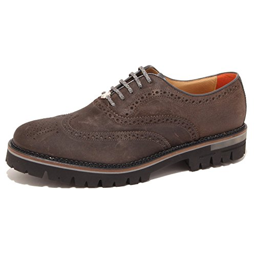 0869P scarpa uomo BRIMARTS SCOTLAND PIOMBO marrone shoe men [45]
