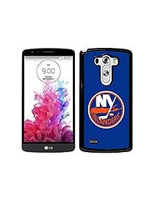 buy Lg G3 Phone Case Nhl Logo, New York Islanders Logo Hockey Team Quote Lg G3 Reinforced Frame Pc Hard Shell Cover For Lg G3