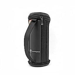 Pushingbest Hard EVA Case Travel Bag Cover Case for Logitech Ultimate Ears UE BOOM UE BOOM 2 Wireless Bluetooth Speaker Black