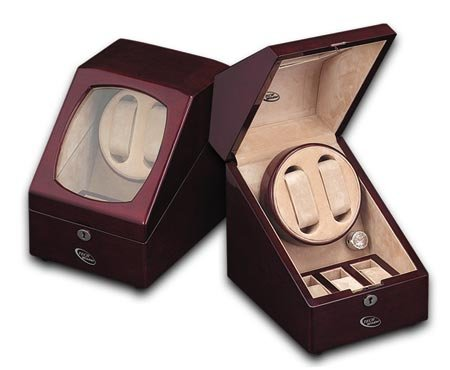 Landmark Double Automatic Watch Winder by WatchWinderStore.com