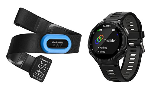 Click to buy Garmin Forerunner 735XT - Black & Gray Tri-Bundle - From only $548.99