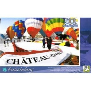 Puzzlebug Hot Air Balloons, Chateau D'oex, Switzerland, 500 Pieces