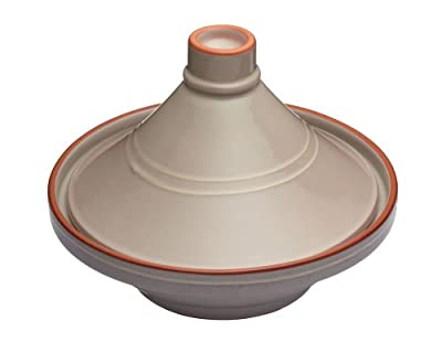 Kitchen Craft 28 Cm Ceramic Molten Tagine Taupe by Kitchen Craft