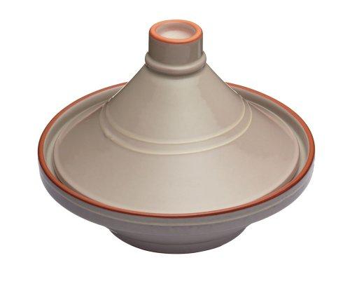 Kitchen Craft 28 cm Ceramic Molten Tagine, Taupe