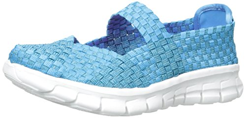Skechers Kids Synergy-Skippin Style Sneaker (Little Kid/Big Kid), Blue, 12.5 M US Little Kid