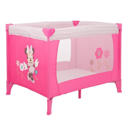 Disney Retro Minnie Travel Cot (Pink)