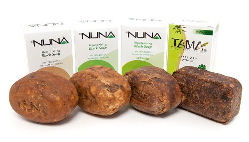 Coastal Scents African Black Soap Set