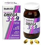 HealthAid Omega 3-6-9 60 Capsules - CLF-HAD-802180