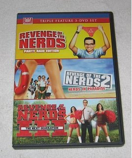 Revenge of the Nerds Triple Feature (Revenge of the Nerds: Panty Raid Edition / Revenge of the Nerds 2: Nerds in Paradise / Revenge of the Nerds 3: The Next Generation)