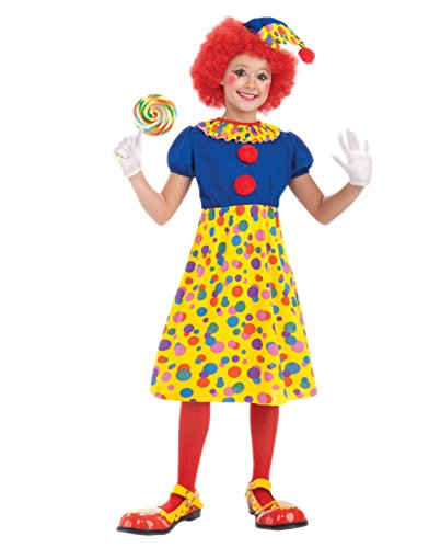 Forum Novelties Circus Clown Girl Costume