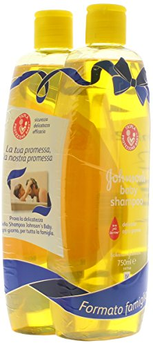 Johnsons Shampoo Baby Ml.750 X 2