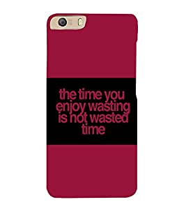 printtech Funny Quotes Back Case Cover for Micromax Canvas Knight 2 E471