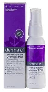 Derma E: Evenly Radiant Overnight Peel With Alpha Hydroxy Acids, 2 Oz