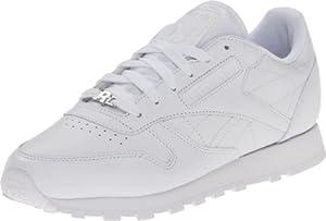 Reebok Women's Classic CTM R13 Shoe,White/White/White,8 M US