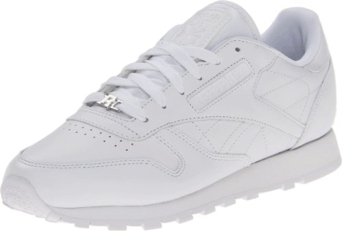 Reebok Women's Classic CTM R13 Shoe,White/White/White,8.5