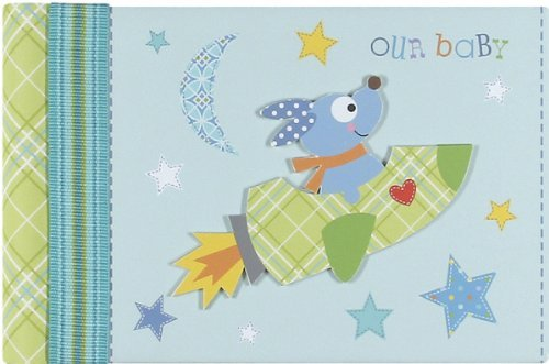 CR Gibson Grandma's Brag Book, Happi Rocket Dog NewBorn, Kid, Child, Childern, Infant, Baby - 1