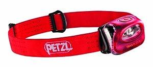 Petzl Erwachsene Stirnlampe Zipka Plus 2, Rot, One Size, E97 PR