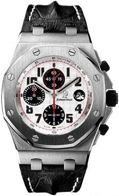 Audemars Piguet Royal Oak Offshore Silver Dial Chronograph Mens Watch 26170STOOD101CR02