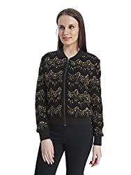 Vero Moda Women's Casual Jacket (_5712614947828_Goldcolor_Large_)