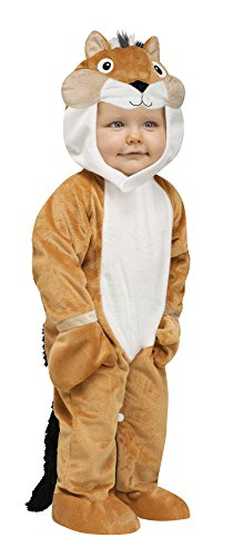Fun World Costumes Baby's Chipper Chipmunk Toddler Costume