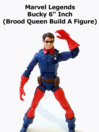 "Review: Marvel Legends Bucky 6"" Inch (Brood Queen Build A Figure)"