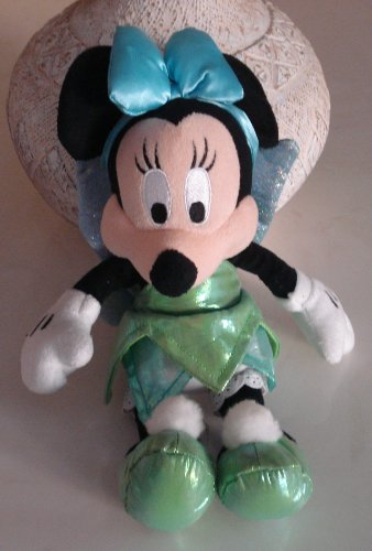 Minnie Mouse Plush Dressed As a Fairy - 11 Inches Tall - 1